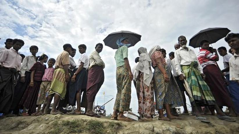 Religionskonflikt: Ethnische Unruhen verschärfen Flüchtlingsdrama in Birma