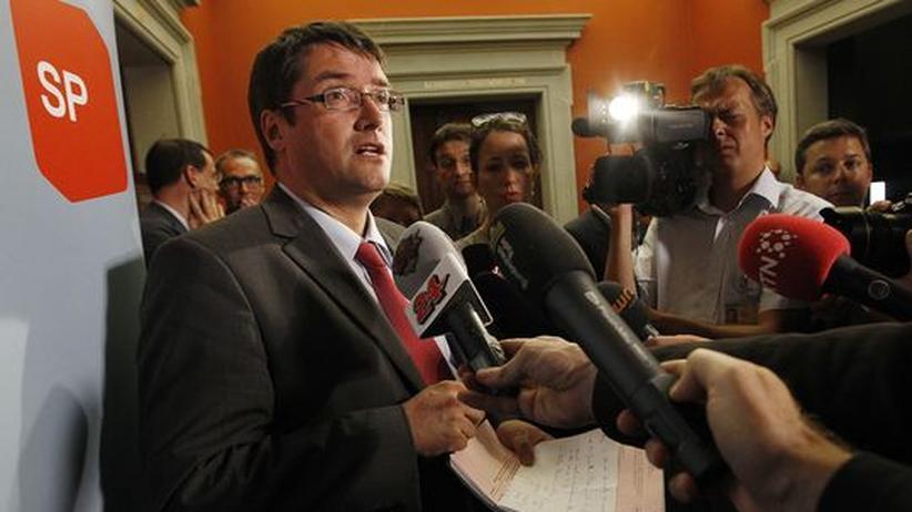 Asylpolitik: Der Schweizer SP-Präsident Christian Levrat im Mai 2012