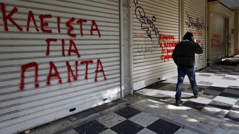 Statistikamt Eurostat: Höhere Defizitquoten für Griechenland, Spanien und Irland