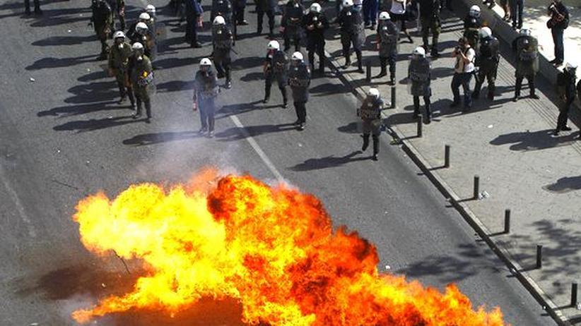 Griechenland: Generalstreik in Athen begleitet von Gewalt