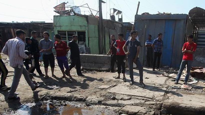 Terrorismus: Viele Tote bei Anschlagsserie im Irak