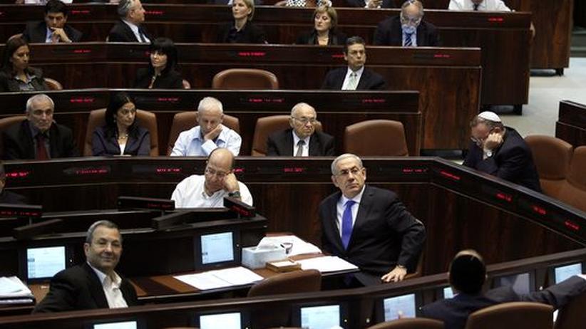Israel: Knesset stimmt für ihre Auflösung