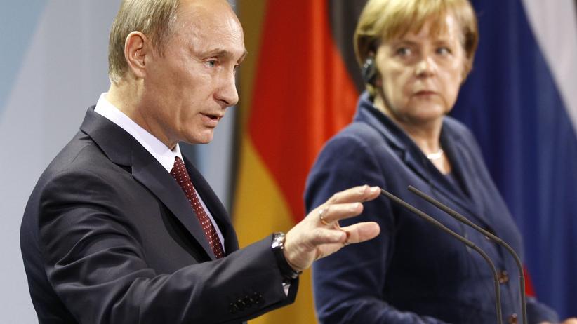 Putin: Deutschland muss Russland gegenüber mutiger sein