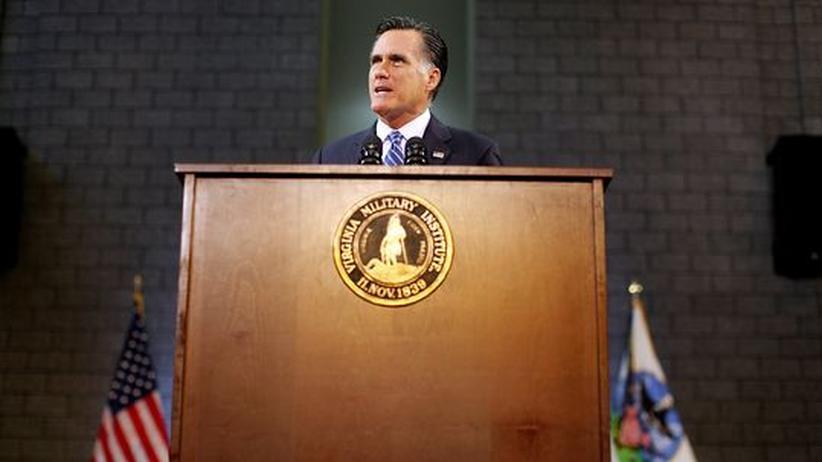 US-Wahlkampf: Romney kündigt aggressivere Außenpolitik an