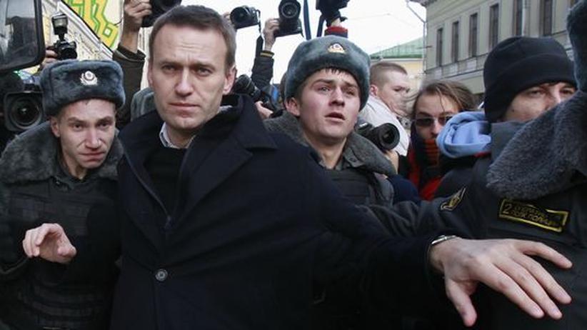 Russland: Drei führende Putin-Gegner festgenommen