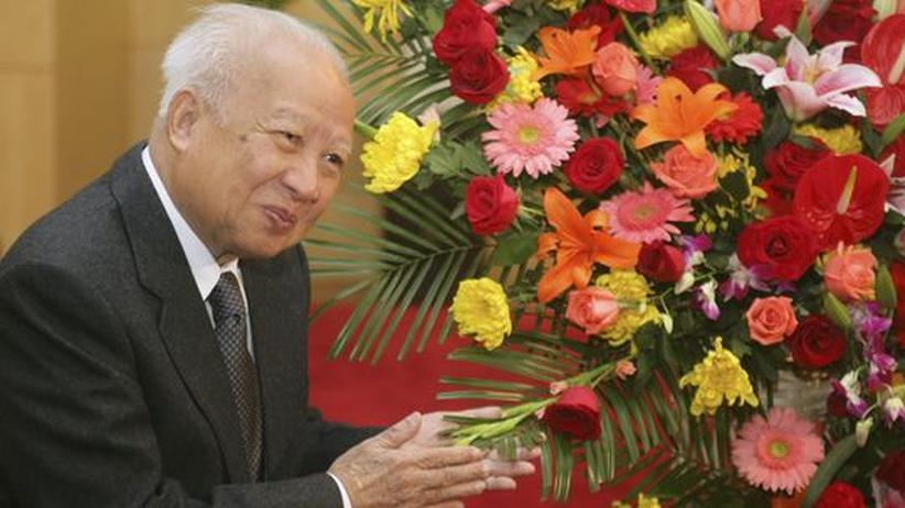 Rote-Khmer-Überlebender: Kambodschas Ex-König Sihanouk gestorben