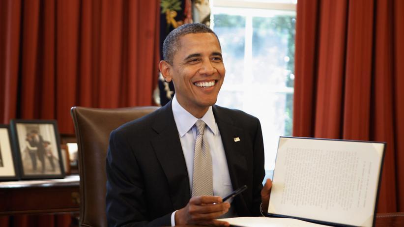 US-Präsident: Eine glatte Sechs für Obama