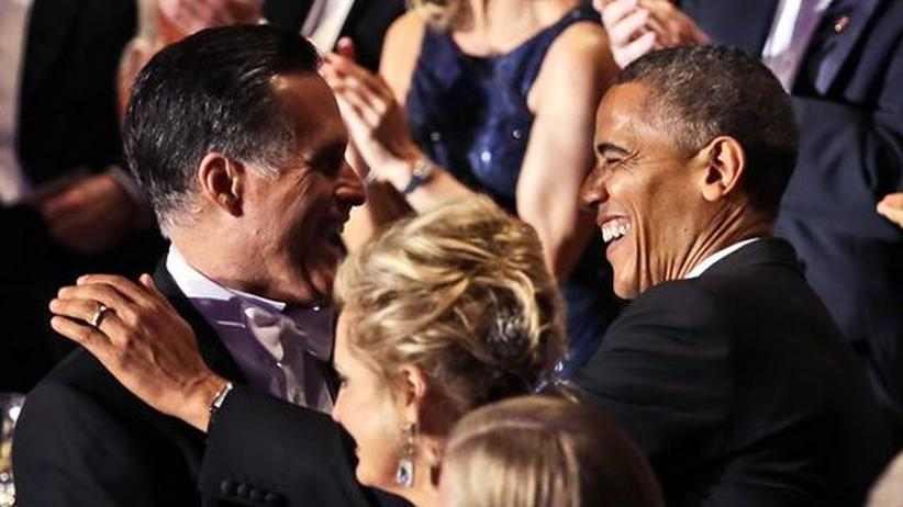US-Wahlkampf: Obama und Romney kalauern um die Wette