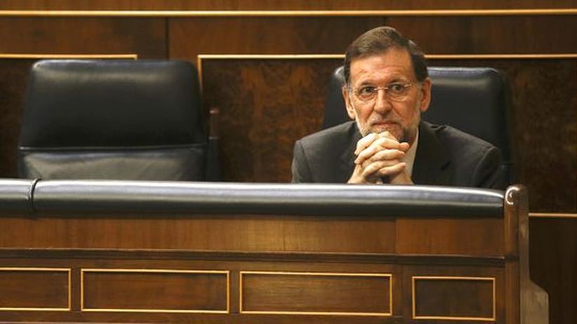 Spanien: Rajoy dementiert Bericht über EU-Rettungsantrag