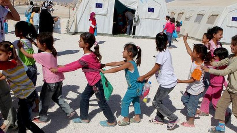 Jordanien: Ein Spielplatz für traumatisierte Bürgerkriegskinder