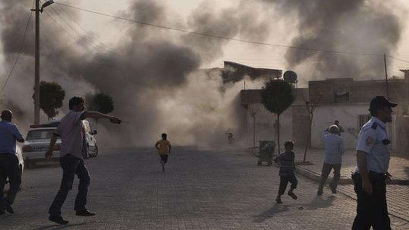 Bürgerkrieg: Tote in türkischem Grenzort nach syrischem Beschuss
