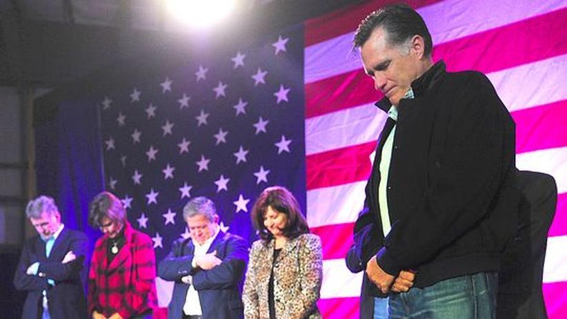 Der republikanische US-Präsidentschaftskandidat Mitt Romney