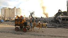 In Gaza-Stadt, 21. November 2012