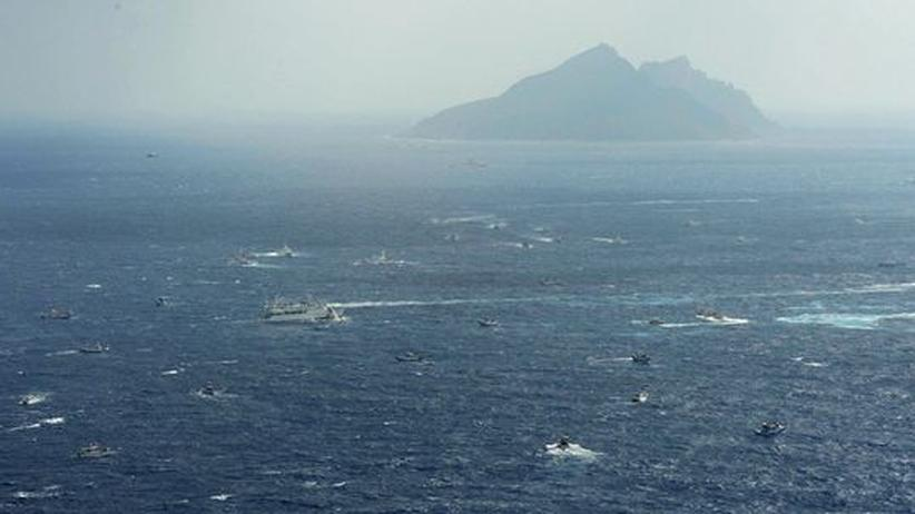 China & Japan: Geheime Treffen am Berg Fuji