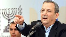 Israels Verteidigungsminister Ehud Barak