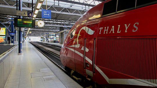 Der Hochgeschwindigkeitszug Thalys verkehrt am europaweiten Aktionstag der Gewerkschaften nicht zwischen Brüssel und Köln.