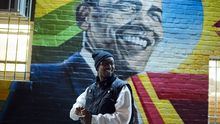 Fotos der US-Wahlnacht: Zwischen Siegesrausch und Depression