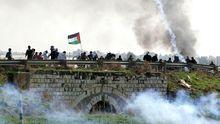 Der umkämpfte Jalama Checkpoint im Gazastreifen