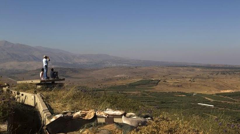 Bürgerkrieg: Syrische Panzer dringen in Pufferzone auf dem Golan ein