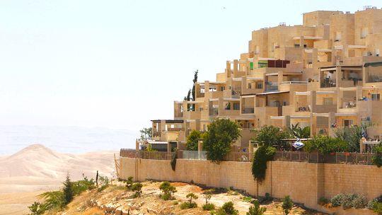 Israelische Wohnungen im Westjordanland