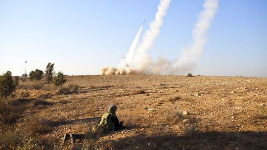 Israelische Soldaten in Beerscheva