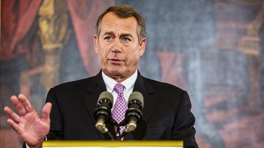Der Vorsitzende des US-Repräsentantenhauses, der Republikaner John Boehner