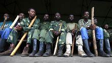 Rekruten der kongolesischen M23-Bewegung