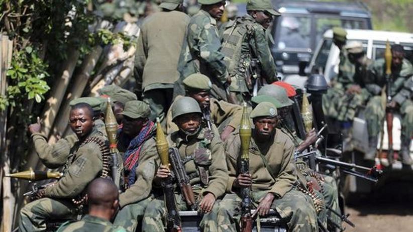 Goma: Kongolesische Armee bereit zum Angriff auf M-23-Rebellen