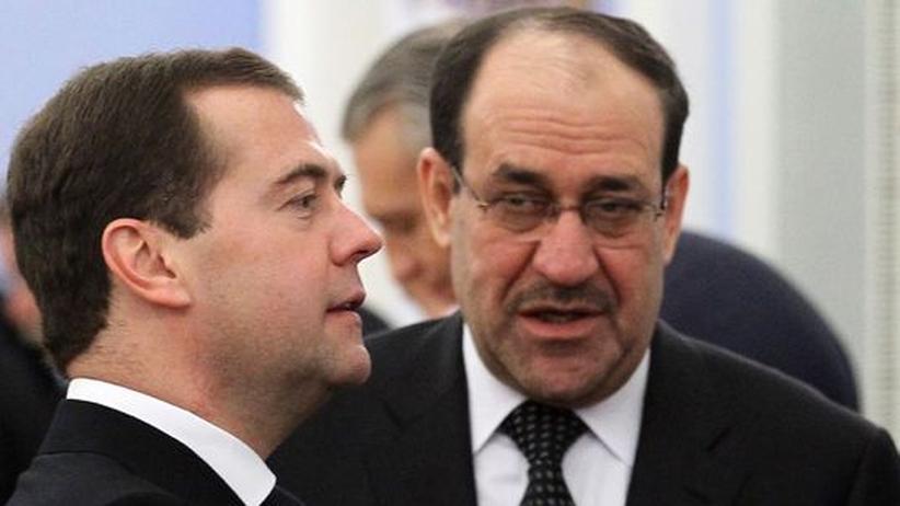 Waffenhandel: Irak storniert Waffendeal mit Russland