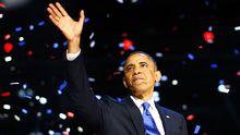 US-Präsident Barack Obama nach seiner Wiederwahl