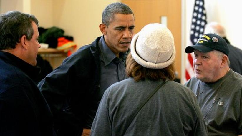 Wahlkampf: US-Bürger loben Obamas Kriseneinsatz