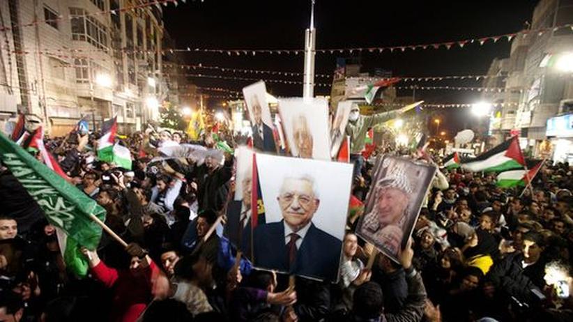 UN-Vollversammlung: UN machen Palästina zum Beobachterstaat