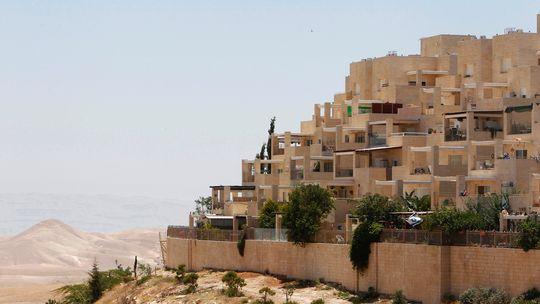 Die Siedlung Maale Adumim im Westjordanland