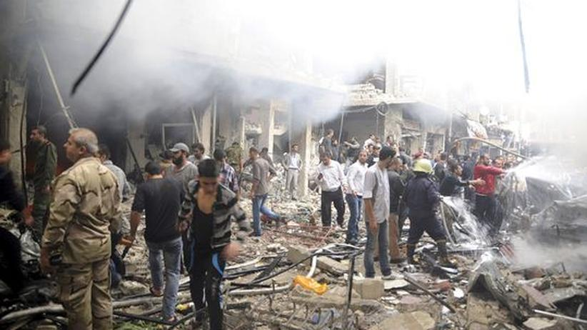 Bürgerkrieg: Viele Tote bei Anschlägen und Kämpfen in Syrien