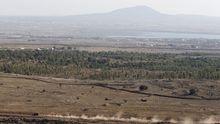 Grenzgebiet zwischen Syrien und Israel