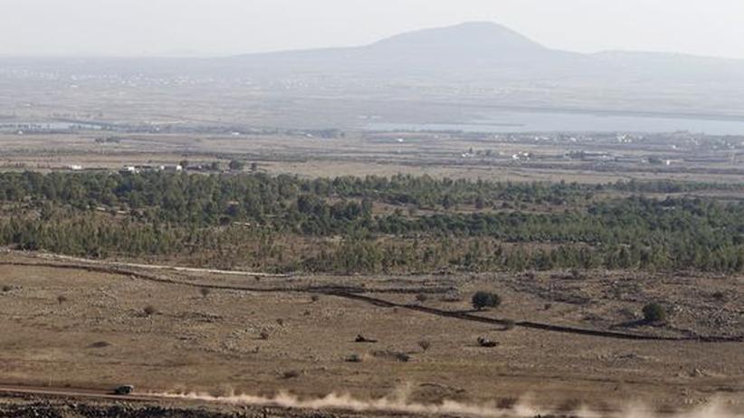 Grenzkonflikt: Israel feuert Warnschüsse in Richtung Syrien
