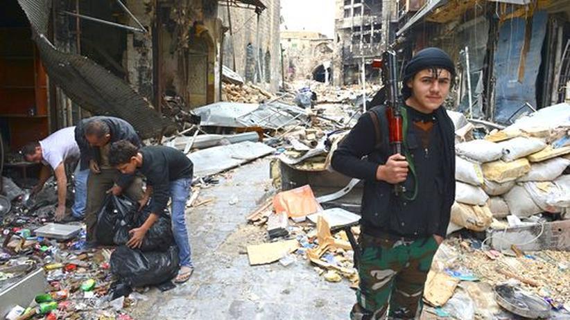 Bürgerkrieg: Brahimi warnt vor gescheitertem Staat in Syrien