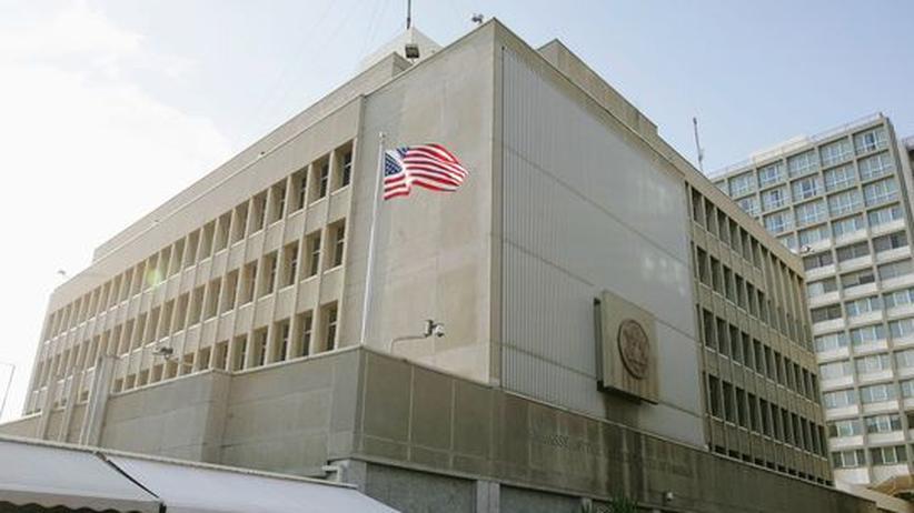 Israel: Schüsse vor US-Botschaft in Tel Aviv
