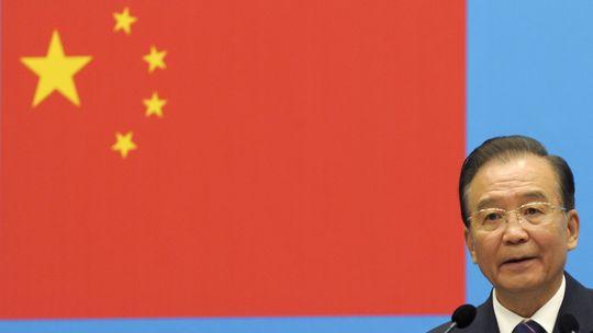 Chinas Premier Wen Jiabao im September 2012