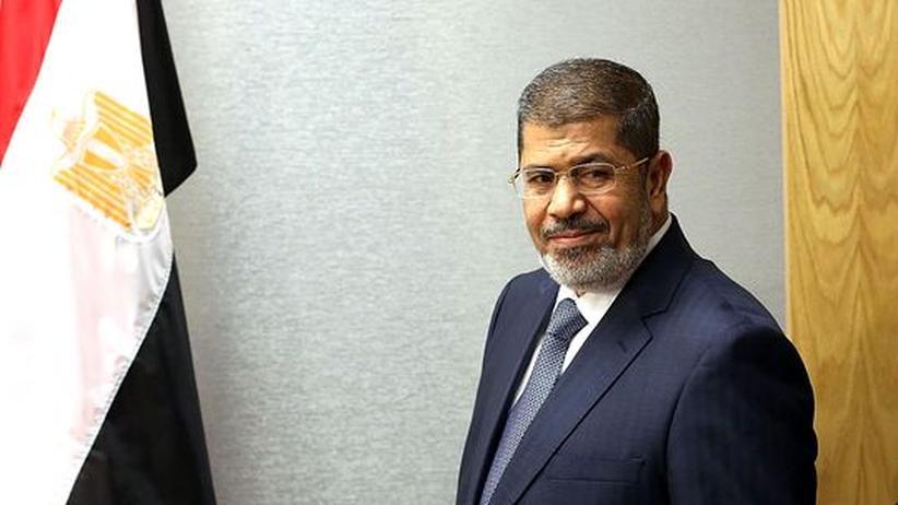Referendum: Ägyptens Präsident Mohammed Mursi