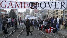 Mursi-Gegner in Kairo