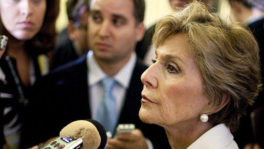Die Demokratin Barbara Boxer sitzt für Kalifornien im US-Senat.