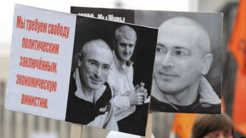 Russland: Chodorkowski soll früher entlassen werden