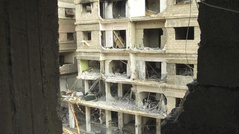 Syrien: Aktivisten schildern schwere Angriffe in Damaskus