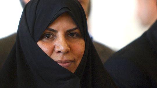 Irans Gesundheitsministerin Marsieh Wahid-Dastdscherdi (Archiv)