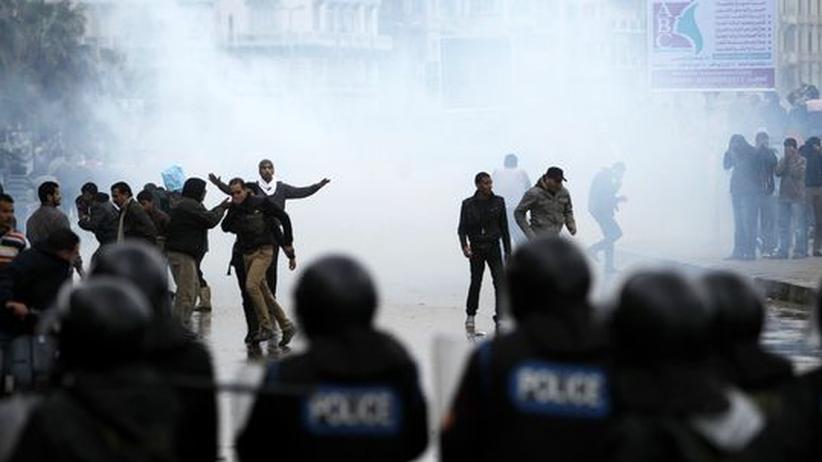 Verfassungsreferendum: Tränengaseinsatz in Alexandria