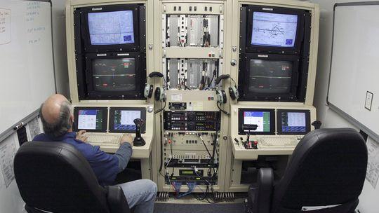 Pilotensitz einer MQ-9 Predator B