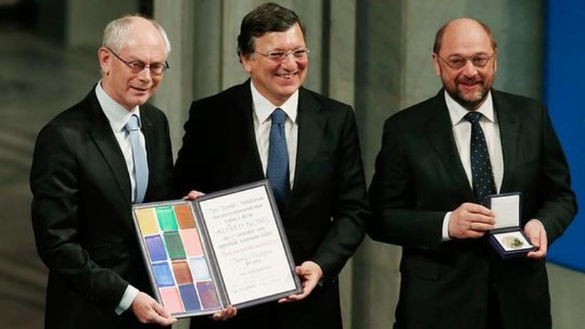Nobelpreis: EU für sechs Jahrzehnte Frieden geehrt