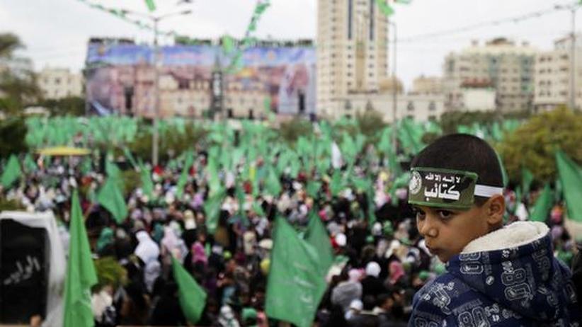 Gründungsjubiläum: Zehntausende bejubeln die Hamas in Gaza