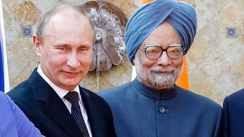 Rüstungsgeschäft: Indien kauft in Russland Waffen für Milliarden